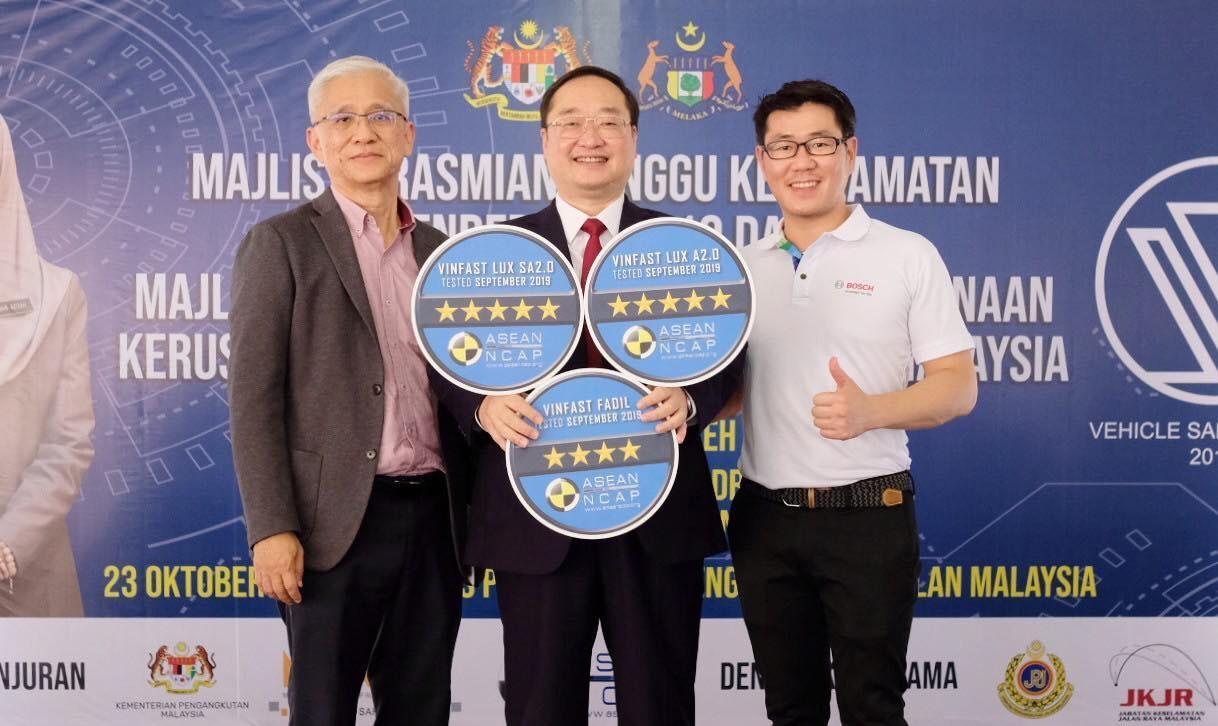 Bạn Chọn Gì.? VinFast Chọn An Toàn…! VinFast đạt chứng nhận an toàn ASEAN NCAP ở mức cao nhất.