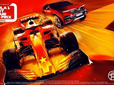VinFast tham gia giải đua xe Công thức 1